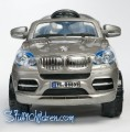 WM - BMW Autobahn X8, Kids car, riding toy, silver, front.jpeg