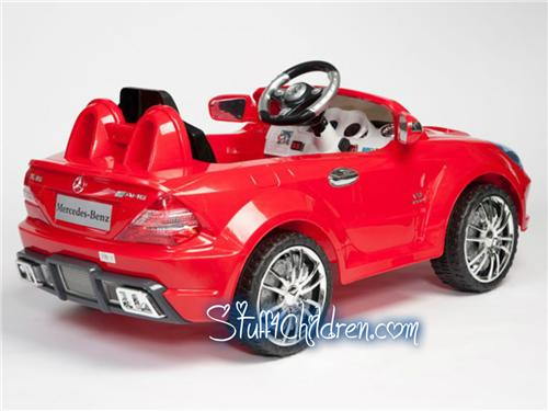Licensed mercedes sl65 6v kids car battery operated ride for Mercedes benz power wheels