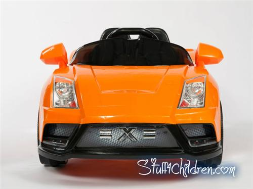 wm lamborghini racer x kids car battery operated ride on power wheels orange full front