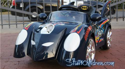 12v batman batmobile kids car kids electric ride on remote control dk blue
