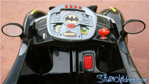 batmobile batman kids car kids electric ride on remote control