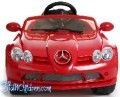 Licensed Mercedes SLR722 Kids Electric Ride on Car, 12V, Remote Control, Seat belt, MP3, Red