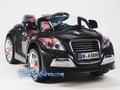 WM - electric ride on car Audi TT kids car black front.jpeg