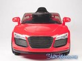 wm, Audi R8, 9926, kids electric ride on car, kids audi r8, red, full front.jpeg