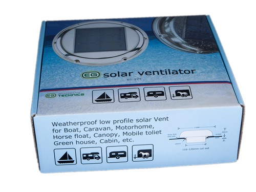 Marine Solar Ventilator Eg Svt003 Attic Exhaust Fan For