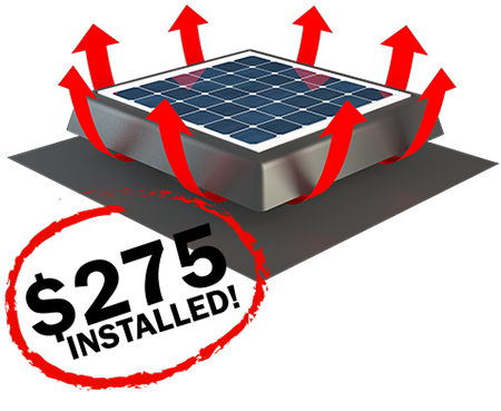 solar roof vent deal