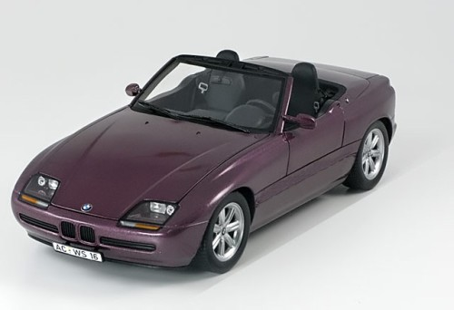 1 18 minichamps bmw z1 convertible 1988 purplemetallic pj modelcars. Black Bedroom Furniture Sets. Home Design Ideas