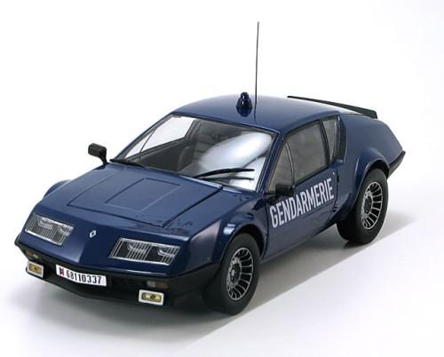 1 18 norev renault alpine a310 v6 gendarmerie 1981 blue pj modelcars. Black Bedroom Furniture Sets. Home Design Ideas