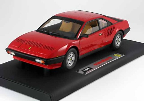 1 18 hotwheels super elite ferrari mondial 8 red limited 2007 pcs pj modelcars. Black Bedroom Furniture Sets. Home Design Ideas