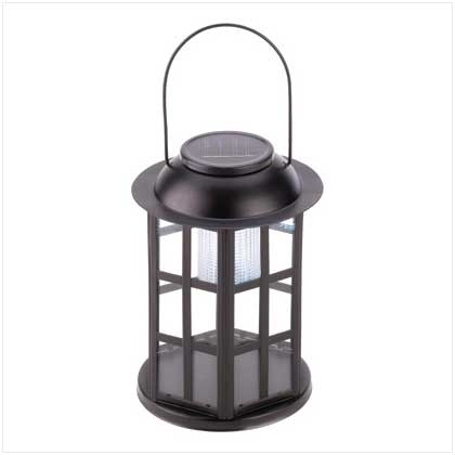 Solar carriage lantern