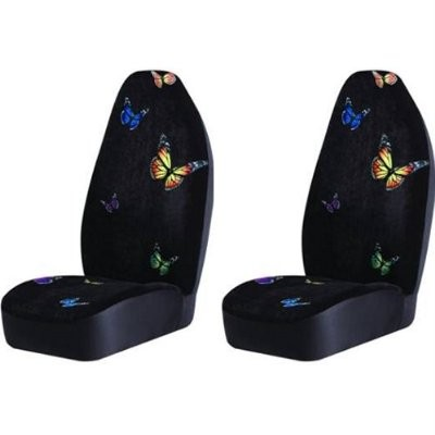 Monarch Butterflies Bucket Seat Cover Pair Everything4cars