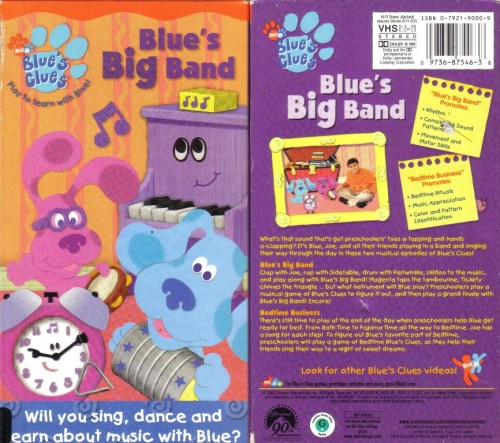 Blues Clues Vhs Pin My Tv Moments Opening To Blues Clues