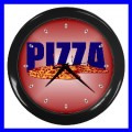 Wall Clock PIZZA Home Restaurant Chef Kitchen Bedroom (11541901)