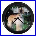Wall Clock AFGHAN HOUND DOG TV Puppy Pet Animal Bedroom (11776709)