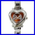 Heart Charm Watch 24 Hours Women Girls Kids NR Fan Gift (12173914)