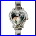 Heart Charm Watch AFGHAN HOUND Kid Dog Puppy Animal Pet (12174369)