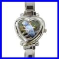 Heart Charm Watch AFRICAN GREY PARROT Bird Pet Animal (12174370)