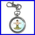 Key Chain Pocket Watch ACUPUNCTURE Needle Doctor Nurse (12155215)