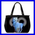 Oversize Office Handbag ARIES Zodiac Sign Astrology Bag (27152753)