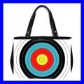 Oversize Office Handbag ARCHERY Target Olympic Game New (27153638)