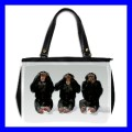 Oversize Office Handbag 3 MONKEYS See Hear Speak Weird (27153737)