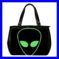 Oversize Office Handbag ALIEN ET Roswell Science Purse (27154475)