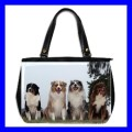 Oversize Office Handbag AUSTRALIAN SHEPHERD Pet Dog Vet (27154645)