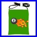 Shoulder Sling Bag Messenger 8 BALL Billiard Pool Eight (25612980)