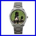 Sport Metal Watch AFGHAN HOUND Dog Puppy Animal Pet Boy (12464083)