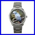 Sport Metal Watch AFRICAN GREY PARROT Bird Pet Animal (12464085)