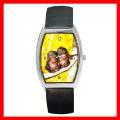 Barrel Metal Watch 2 MONKEYS BABY Wild Animal Jungle NR (12661346)