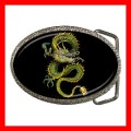 Chrome Metal Belt Buckle  DRAGON Boys NR Flying Myth NR (21603925)