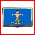 Cigarette Card Money Case Box ACUPUNCTURE AMA Doctor NR (16344082)