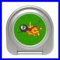 Desk Clock 8 BALL Billards Alarm Pool Eight Game Table (11828397)