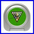 Desk Clock 8 BALL Table Billards Alarm Pool Eight Game (11828398)