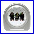 Desk Clock 3 MONKEYS See Hear Speak Animal Zoo Alarm NR (11828479)