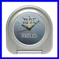 Desk Clock FUNERAL Morgue Home Mortician Coffin Casket (11828558)