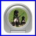 Desk Clock AFGHAN HOUND DOG Puppy Pet Animal Alarm Vet (11828855)