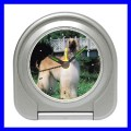 Desk Clock AFGHAN HOUND DOG Vet Puppy Pet Animal Alarm (11828856)