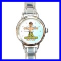 Round Charm Watch ACUPUNCTURE Needle Doctor Nurse AMA (11811244)