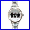 Round Charm Watch 3 MONKEYS See Hear Speak Animal Girls (11811321)