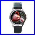 Round Metal Watch FLAMINGO BIRD Jungle Wild Animal Zoo (11776484)