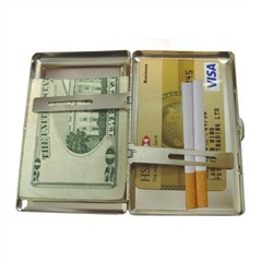 Cigarette Money Case