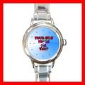 Personalization Of Round Charm Watch Customized Gift (roundcharmwatch)