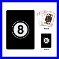Playing Cards Poker Deck 8 BALL Game Billiards Pool Eight Snooker (15480974)