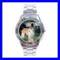 Stainless Steel Watch AFGHAN HOUND DOG Vet Puppy Pet Gift (31148682)