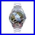 Stainless Steel Watch AFRICAN GREY PARROT Bird Pet Animal Zoo (31148683)