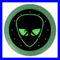 Color Wall Clock ALIEN ET Roswell Science Custom Gift Space Myth (27200306)