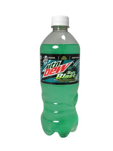 20oz bottles mountain dew baja blast