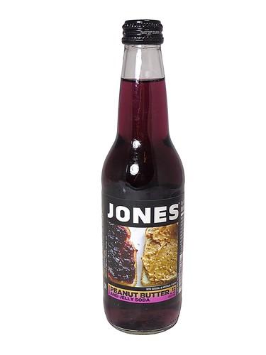 FRESH 12oz Jones Peanut Butter & Jelly soda